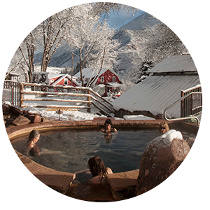 Natural Colorado Hot Springs | Open Year Round | Avalanche Ranch